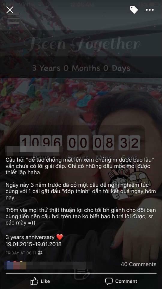 """""""Soi"""" ra Facebook nghi là bạn gái của Xuân Trường, cặp đôi mới kỷ niệm 3 năm yêu nhau? ảnh 4"""