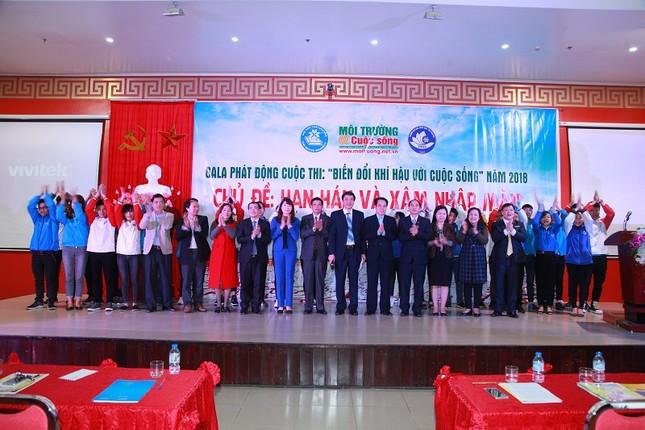 Đại học Khoa học - Đại học Thái Nguyên: Phát động cuộc thi Biến đổi khí hậu với cuộc sống ảnh 6