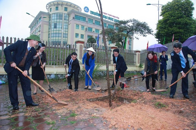 Đại học Khoa học - Đại học Thái Nguyên: Phát động cuộc thi Biến đổi khí hậu với cuộc sống ảnh 7