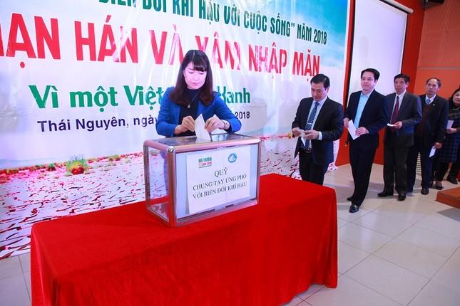 Đại học Khoa học - Đại học Thái Nguyên: Phát động cuộc thi Biến đổi khí hậu với cuộc sống ảnh 5
