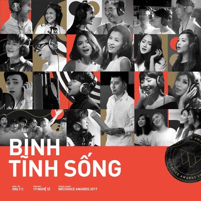 """19 ca sĩ, nhóm nhạc đình đám V-Pop hòa giọng trong ca khúc chủ đề của album """"Bình tĩnh sống""""  ảnh 1"""