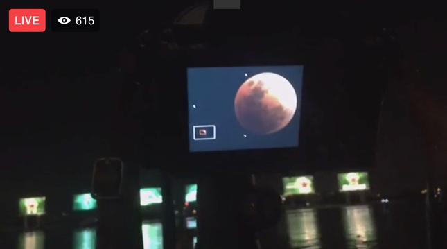 Giới trẻ khắp thế giới thích thú khoe ảnh chụp hiện tượng thiên văn thế kỷ: Siêu Trăng xanh máu ảnh 10