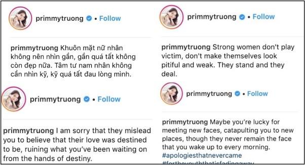 """Trước tin đồn chia tay Primmy Trương, Phan Thành chỉ lẳng lặng để trạng thái """"độc thân"""" và like ảnh Midu ảnh 3"""