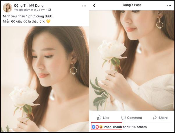 """Trước tin đồn chia tay Primmy Trương, Phan Thành chỉ lẳng lặng để trạng thái """"độc thân"""" và like ảnh Midu ảnh 6"""