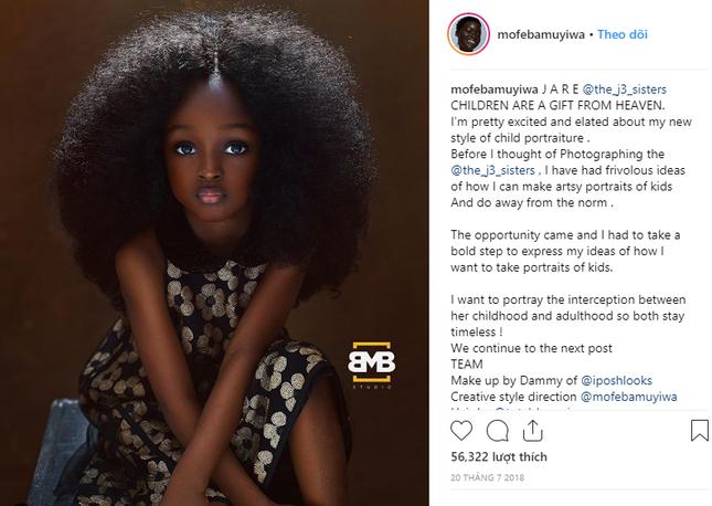 """Chiêm ngưỡng vẻ đẹp """"phá vỡ mọi quy chuẩn"""" của cô bé 6 tuổi đến từ Nigeria ảnh 3"""