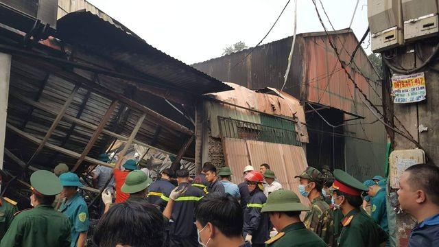 Hình ảnh hiện trường vụ cháy kinh hoàng làm 8 người chết và mất tích ảnh 5