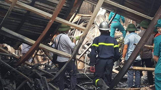 Hình ảnh hiện trường vụ cháy kinh hoàng làm 8 người chết và mất tích ảnh 6