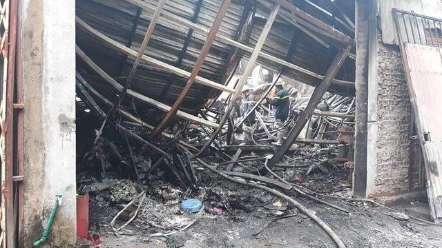 Hình ảnh hiện trường vụ cháy kinh hoàng làm 8 người chết và mất tích ảnh 10