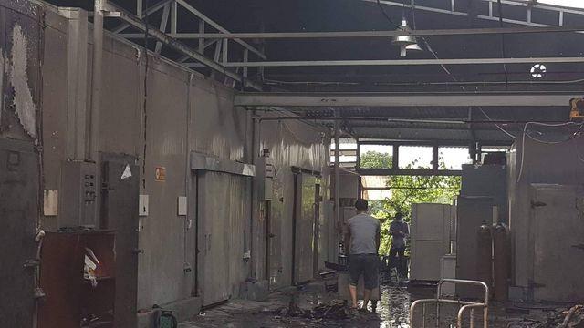 Hình ảnh hiện trường vụ cháy kinh hoàng làm 8 người chết và mất tích ảnh 13