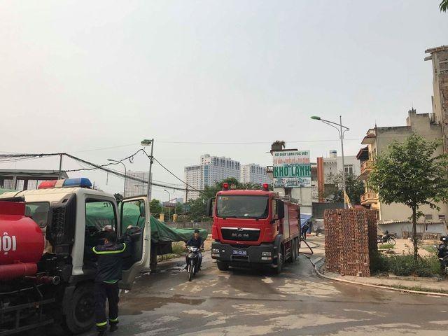 Hình ảnh hiện trường vụ cháy kinh hoàng làm 8 người chết và mất tích ảnh 17