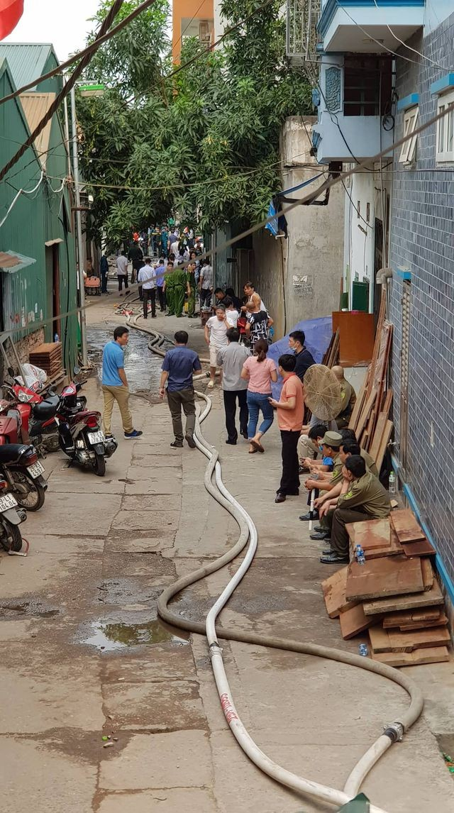 Hình ảnh hiện trường vụ cháy kinh hoàng làm 8 người chết và mất tích ảnh 18