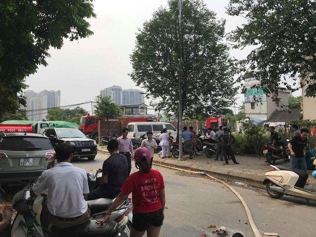 Hình ảnh hiện trường vụ cháy kinh hoàng làm 8 người chết và mất tích ảnh 20