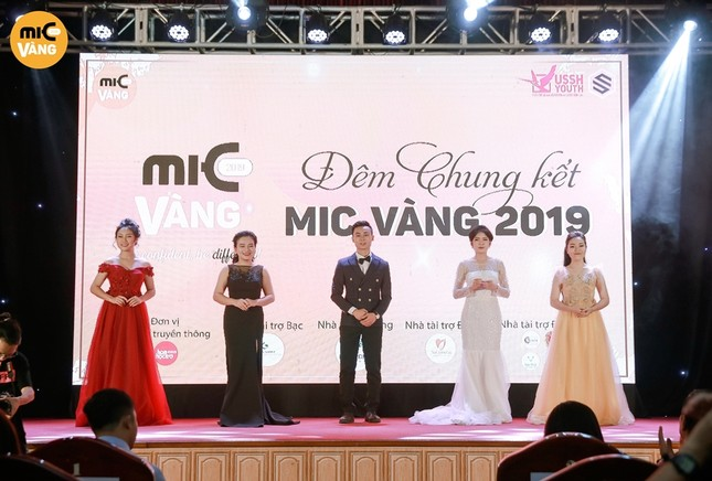 Chung kết cuộc thi MIC Vàng 2019: Khi sự tự tin tạo nên điều khác biệt! ảnh 1