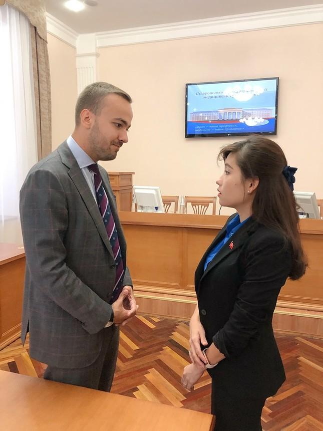 Đại biểu thanh niên Việt Nam đối thoại cùng đại diện Cơ quan Thanh niên Liên bang Nga ảnh 4