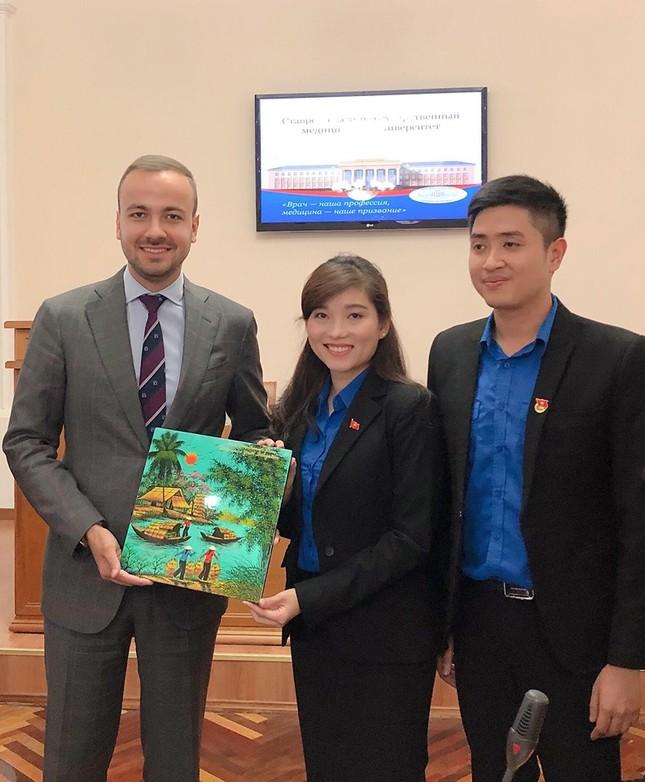 Đại biểu thanh niên Việt Nam đối thoại cùng đại diện Cơ quan Thanh niên Liên bang Nga ảnh 5