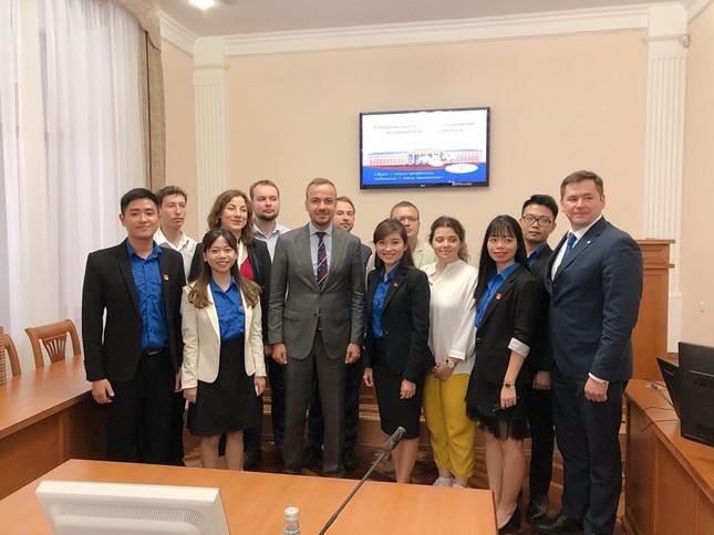 Đại biểu thanh niên Việt Nam đối thoại cùng đại diện Cơ quan Thanh niên Liên bang Nga ảnh 6