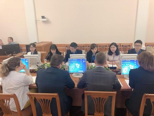 Đại biểu thanh niên Việt Nam đối thoại cùng đại diện Cơ quan Thanh niên Liên bang Nga ảnh 3