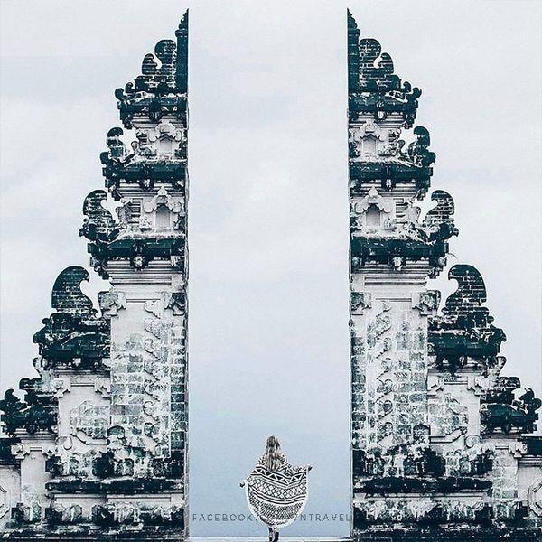 """Xuất hiện """"cổng trời Bali"""" ở Đà Lạt gây khiến cộng đồng mạng tranh cãi gay gắt ảnh 2"""