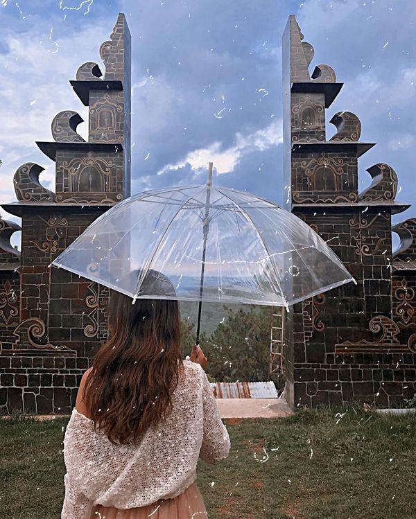 """Xuất hiện """"cổng trời Bali"""" ở Đà Lạt gây khiến cộng đồng mạng tranh cãi gay gắt ảnh 4"""
