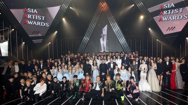 Lễ trao giải Asia Artist Awards 2019 chính thức được tổ chức tại Hà Nội vào cuối năm ảnh 2