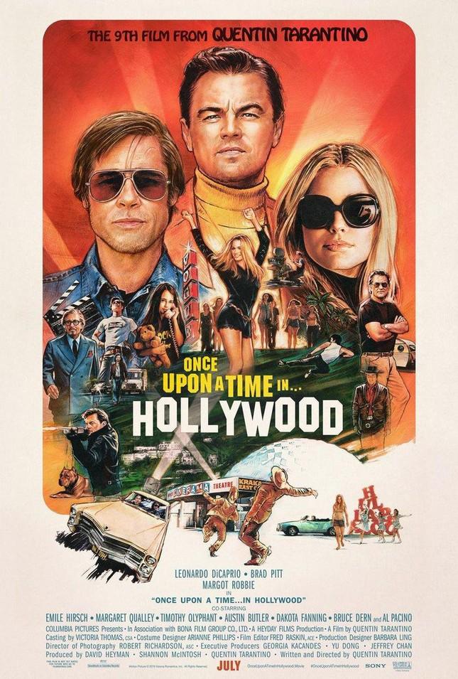 Bom tấn của Leonardo DiCaprio và Brad Pitt tung poster mới đậm chất hoài cổ ảnh 1