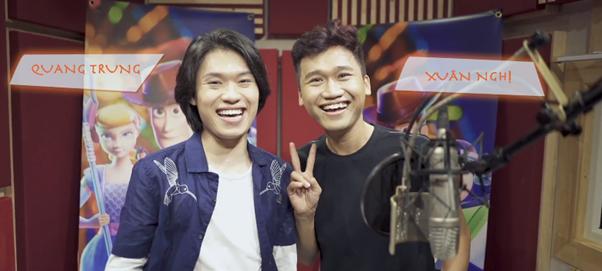 """Hai """"vựa muối"""" Quang Trung – Xuân Nghị hóa thân thành bộ đôi hài hước trong """"Toy Story 4"""" ảnh 3"""