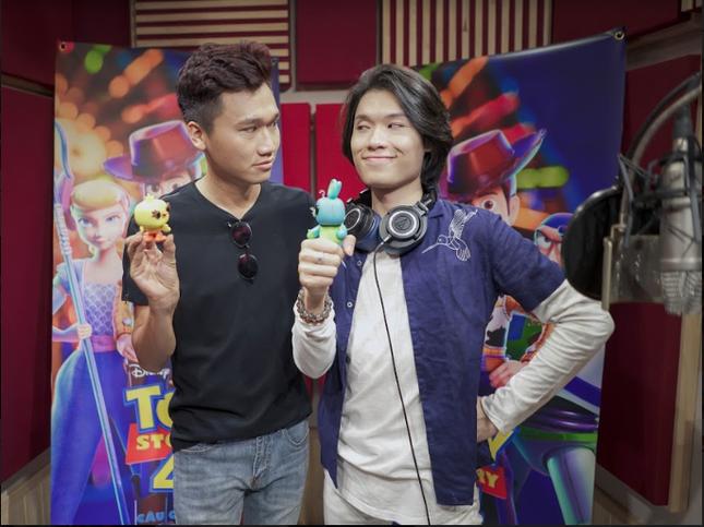 """Hai """"vựa muối"""" Quang Trung – Xuân Nghị hóa thân thành bộ đôi hài hước trong """"Toy Story 4"""" ảnh 5"""