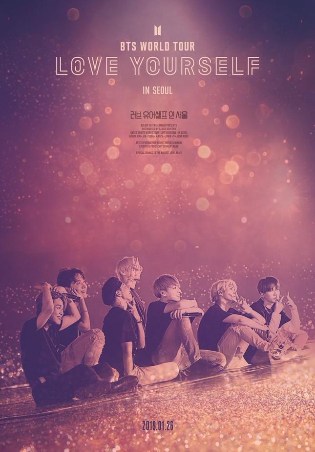 """Nhìn lại thành tích """"bá đạo"""" từ các phim chiếu rạp của BTS ảnh 2"""