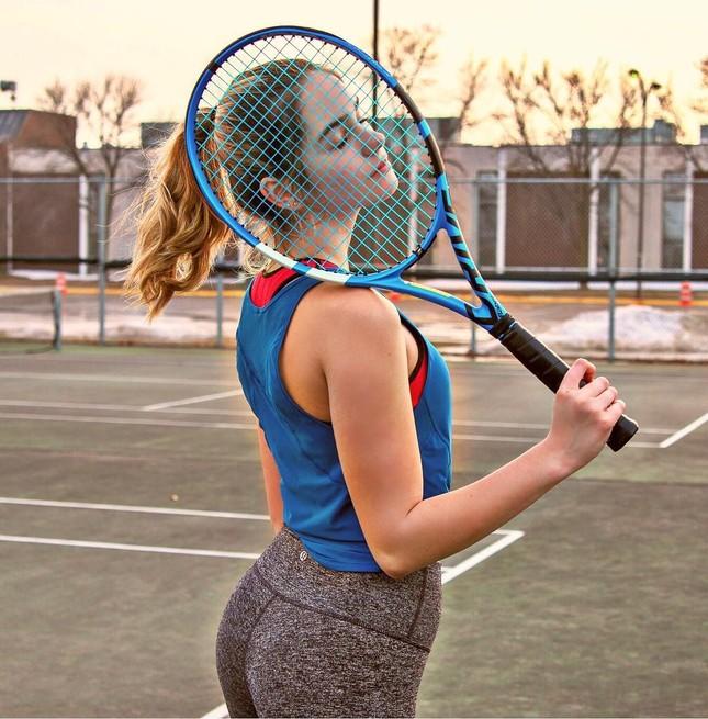 """Mê đắm nhan sắc tựa """"thiên thần"""" của tay vợt 14 tuổi Makenzie Raine ảnh 4"""