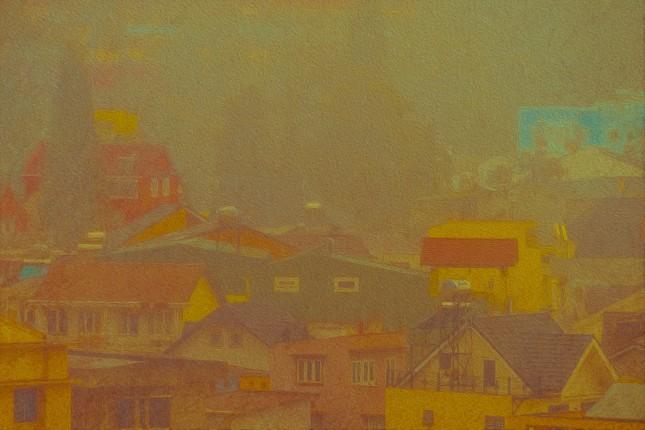 Bạn đã từng chiêm ngưỡng một Đà Lạt xinh đẹp qua những bức tranh sơn dầu? ảnh 5