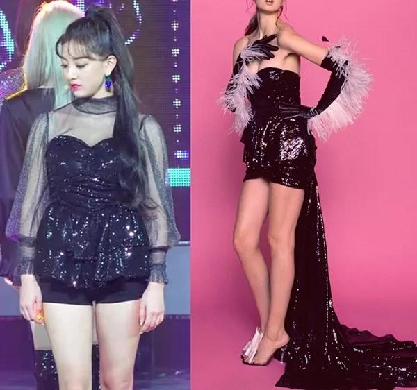 Có ai như stylist của Twice, thường xuyên biến váy sang chảnh hàng hiệu thành hàng chợ ảnh 1