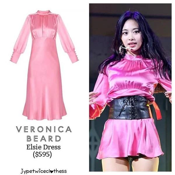 Có ai như stylist của Twice, thường xuyên biến váy sang chảnh hàng hiệu thành hàng chợ ảnh 2