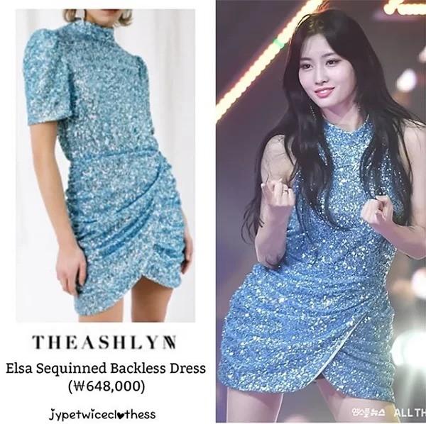 Có ai như stylist của Twice, thường xuyên biến váy sang chảnh hàng hiệu thành hàng chợ ảnh 3