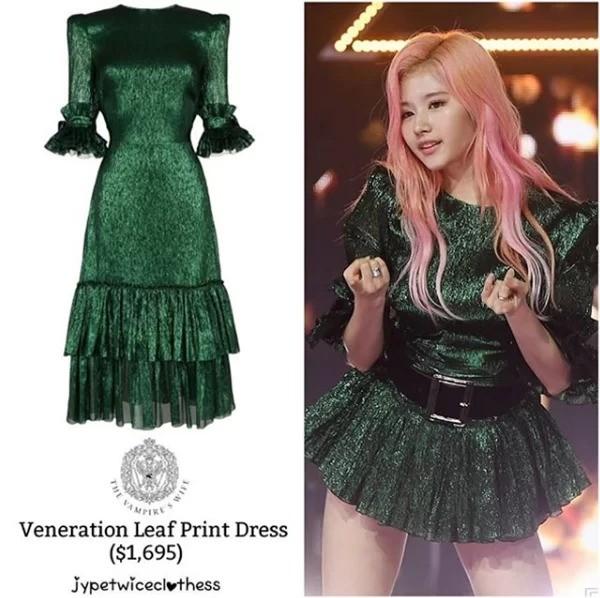 Có ai như stylist của Twice, thường xuyên biến váy sang chảnh hàng hiệu thành hàng chợ ảnh 4