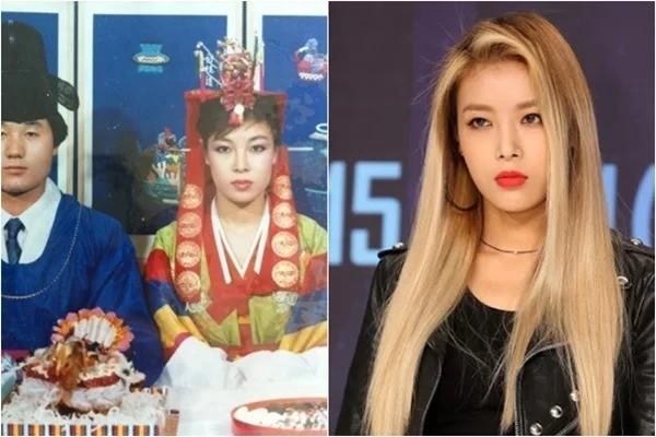 Khán giả đã từng rất ấn tượng với ánh mắt cương nghị và nét đẹp cá tính của Yubin (Wonder Girls). Hóa ra hai điểm nổi bật đó của Yubin đều nhờ mẹ cô mà có.