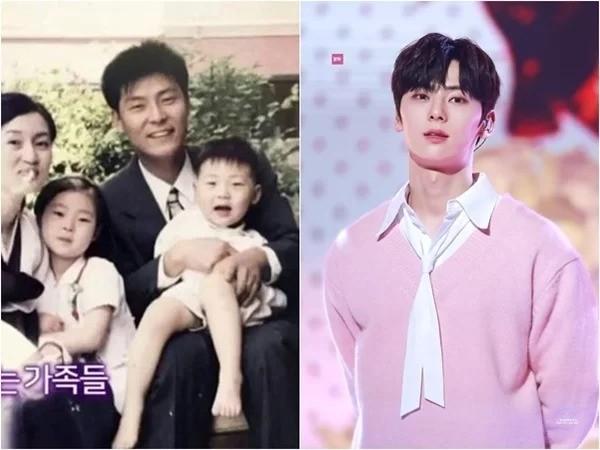 Nhìn bố của Hwang Minhyun đẹp trai cao ráo thế này, bảo sao Minhyun luôn là mỹ nam nổi bật của NU'EST cũng như Wanna One.