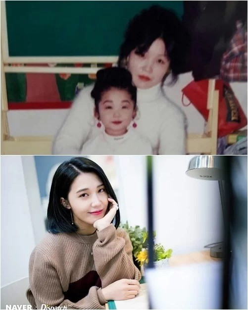 Eunji (Apink) luôn rất vui khi được khen là giống hệt mẹ, vì như thế có nghĩa là cô nàng xinh như mẹ mình vậy.