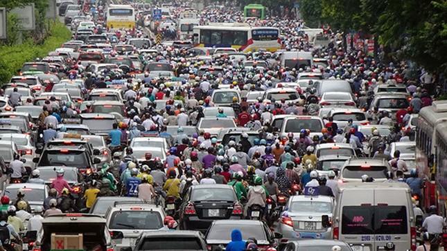 Hà Nội có thể dừng đăng ký xe máy tại một số quận ảnh 1