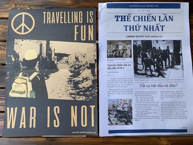"""Teen làm """"tổng biên tập"""" báo thời chiến, tường thuật 2 cuộc chiến tranh thế giới đầy kịch tính ảnh 6"""