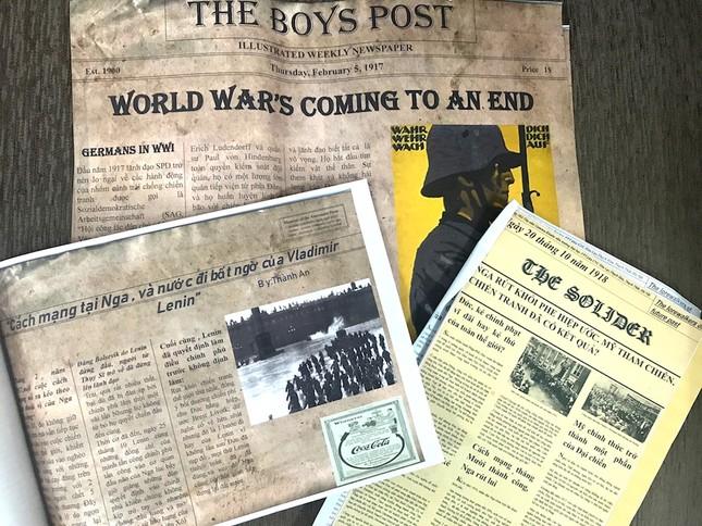 """Teen làm """"tổng biên tập"""" báo thời chiến, tường thuật 2 cuộc chiến tranh thế giới đầy kịch tính ảnh 4"""