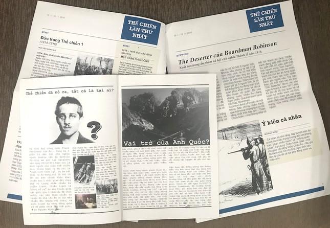"""Teen làm """"tổng biên tập"""" báo thời chiến, tường thuật 2 cuộc chiến tranh thế giới đầy kịch tính ảnh 2"""