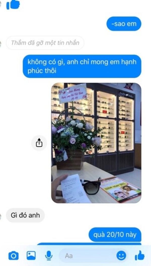 Hí hửng tặng bạn gái mới quen kính mắt hàng hiệu gần 10 triệu đồng, chàng trai nhận kết đắng ảnh 2