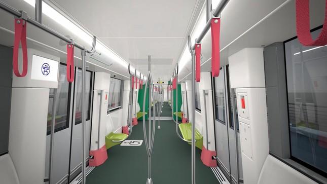 Hình ảnh tàu tuyến metro Nhổn - Ga Hà Nội đang lắp ráp tại Pháp ảnh 4
