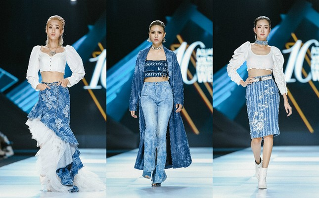 H'Hen Niê cưỡi ngựa, Lãnh Thanh khuấy động sàn diễn Vietnam International Fashion Week Fall/Winter 2019 ảnh 7