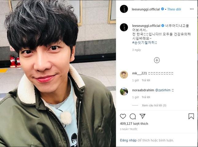 Vì sao khi virus corona bùng phát, fan K-Pop lại nháo nhào tìm kiếm Lee Seung Gi? ảnh 3