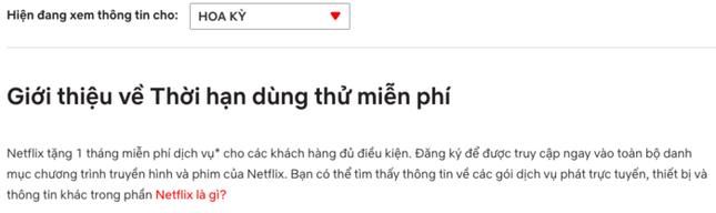 Bị lợi dụng quá nhiều, Netflix không cho người dùng Việt Nam xem thử miễn phí? ảnh 2