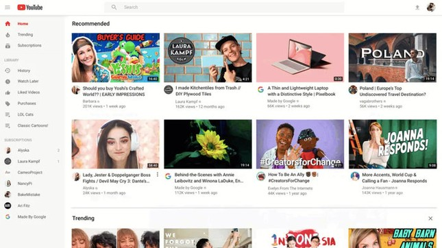 """YouTube sẽ """"khai tử"""" giao diện cũ vào tháng tới, bất chấp người dùng có thích nó hay không ảnh 1"""