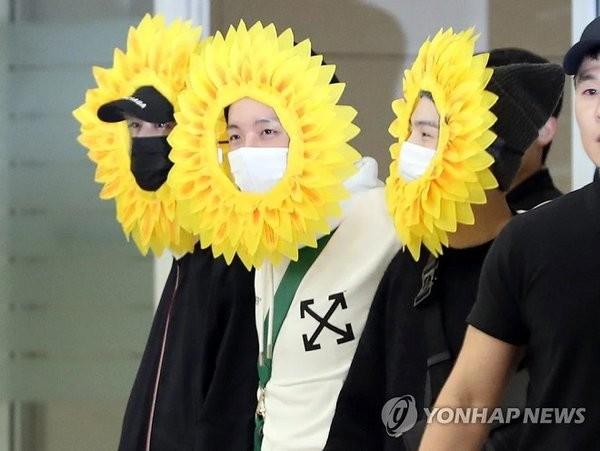 Cuối cùng thì ARMy đã biết nguồn gốc ra đời ba chàng hoa hướng dương của BTS ảnh 2