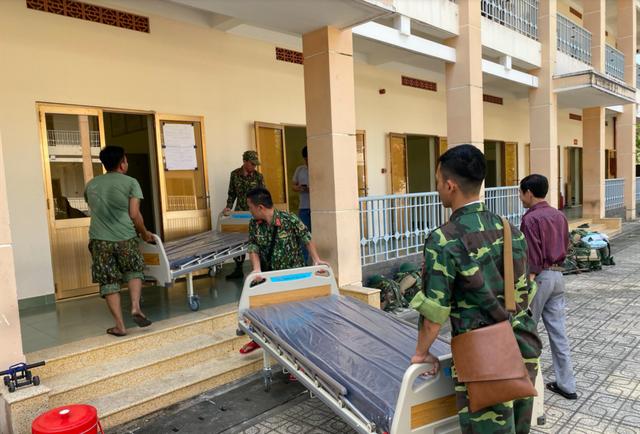Những hình ảnh đầu tiên về bệnh viện dã chiến chống corona tại Sài Gòn ảnh 3