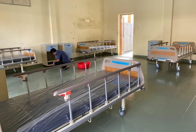 Những hình ảnh đầu tiên về bệnh viện dã chiến chống corona tại Sài Gòn ảnh 4